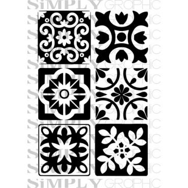 mini planche azulejos