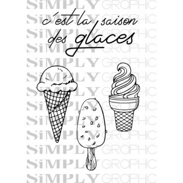 mini planche saison des glaces
