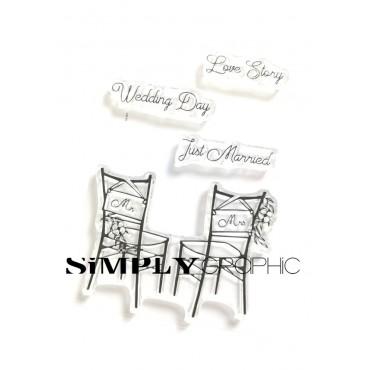 planche chaises des mariés