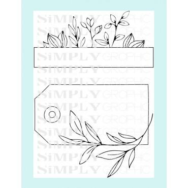 planche étiquettes feuillages