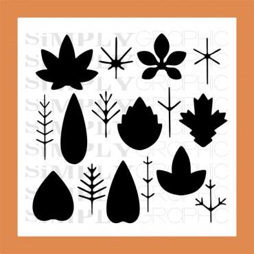 planche feuilles à combiner