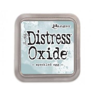 Distress Oxide speckled egg