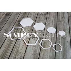 dies hexagones