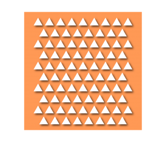 pochoir triangles
