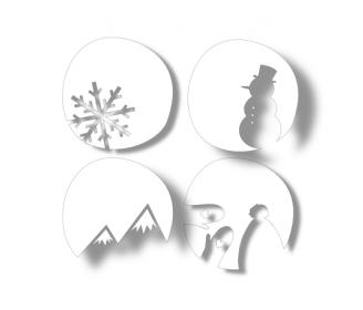 dies 4 cercles hiver