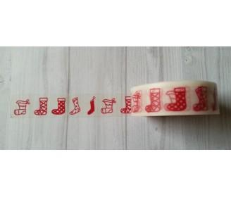 masking tape bottes de Noel