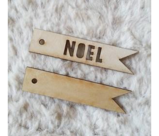 lot 2 étiquettes NOEL