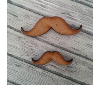 moustache bois GM