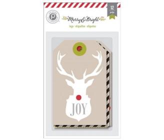 12 grands tags de Noël